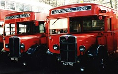 London transport 738J & 739J Breakdown Tenders 1950. (Ledlon89) Tags: bus london stl lt londonbus londontransport lorries servicevehicles cobhambusmuseum aecregent breakdowntender