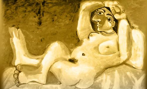 "Majas, homenajes de Francisco de Goya y Lucientes (1802), Eugéne Delacroix (1826), Amadeo Modigliani (1916), Pablo Picasso (1906), (1931), (1959), (1964). • <a style=""font-size:0.8em;"" href=""http://www.flickr.com/photos/30735181@N00/8747973662/"" target=""_blank"">View on Flickr</a>"
