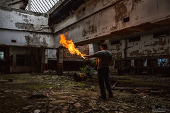Flame On! Abandoned building fire-play - Post office, Gary IN (RickDrew) Tags: old urban hot building rot abandoned industry yellow rock stone fire rust iron peeling glow decay steel failure postoffice ruin indiana burning flame burn vandal vandalism oxidation bloom gary rusting usps decomposition exploration decline economy dilapidation corrosion blight decadence consumption crumbling oxydation fallingapart urbex bankrupt deterioration degeneration atrophy disintegration failing decrepitude ruination caries depreciation decrease degeneracy