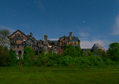 Bennett College (Noel Kerns) Tags: new york abandoned college night hall ruins halcyon clear millbrook bennett