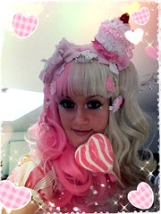 Me (Himemilie) Tags: pink party cake wonder pretty candy heart sweet lolita op angelic