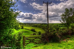 Countryside Walk (AreKev) Tags: countryside landscape walk telegraphpole failand nearbristol somerset england uk sonydschx20v hdr photomatixpro tonemapped