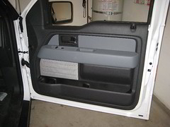 2013 Ford F-150 Front Interior Door Panel - Remove To Upgrade Speaker (Paul Miguels) Tags: door ford window switch mirror diy do view panel side steps f150 it off size remove speaker take instructions motor how guide removal 12th yourself 2009 gener