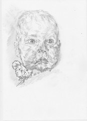 Baby Carl. (Fruen Hansen) Tags: children karl pencildrawing babycarl