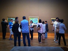 We're all here for Van Gogh. (ElementaryPenguin) Tags: california art museum losangeles getty vangogh jpaulgettymuseum