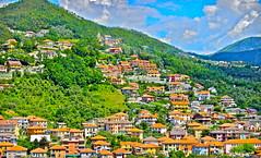 Italian Hillside Village (John O Dyer) Tags: italy countryside village hillside