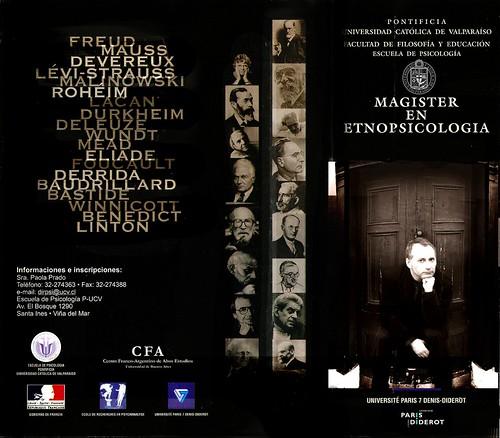 Magister en Etno Psicologia_ Dr. Adolfo Vasquez Rocca  PUCV