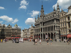 Grote Markt (Francisco Anzola) Tags: plaza brussels archi