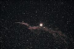 "Western Veil Nebula ""Witch's Broom"" NGC6960 (dansastr0) Tags: space astrophotography astronomy deepsky astroimages"