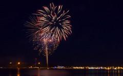 Monday Night Fireworks Weymouth again (224/365-13) (mark1alpha) Tags: fireworks monday weymouth project365 2013