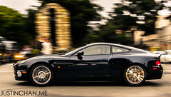 Aston Martin Vanquish (Justin Chan Photography) Tags: car monterey martin carmel week aston vanquish