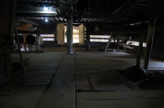Inside a building in Pematang Purba