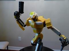 EVA Unit 00 (in Lego) (boyzwiththemosttoyz) Tags: anime robot eva mecha mech evangelion