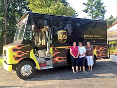 "UPS-Volunteers-with-Flame-Truck-for-collection-in-Nashua • <a style=""font-size:0.8em;"" href=""http://www.flickr.com/photos/49659889@N03/9734264110/"" target=""_blank"">View on Flickr</a>"