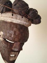 Salampasu (Art(s) Collect) Tags: male war mask secret chief sala tribal sacred masquerade congo tribe clan society masculinity warlord masque initiation zaire headhunter headhunters etnisch tribaal maskertje mpasu salampasu