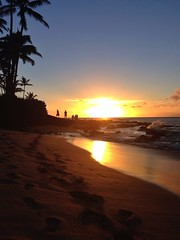 Napili sunset 2 (staceysmith8) Tags: sunset beach hawaii maui iphone napili uploaded:by=flickrmobile flickriosapp:filter=nofilter