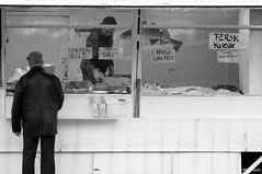 (palim_die_kim) Tags: portrait blackandwhite bw fish norway shopping streetphotography documentary scandinavia