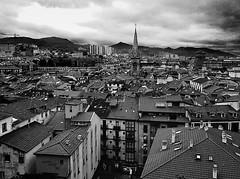 Skyline botxero. Bilbao (ines valor) Tags: bw skyline bilbao urbano euskadi cascoviejo panormica elbotxo