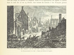 Image taken from page 105 of 'Bruxelles a travers les ages. (Troisieme volume ... par H. Hymans, P. Hymans.)' (The British Library) Tags: brussels large bombardment publicdomain vol02 1695 nineyearswar page105 bldigital mechanicalcurator pubplacebruxelles date1882 hymanslouissalomon sysnum001782251 imagesfrombook001782251 imagesfromvolume00178225102