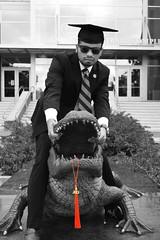 DSC_1353BW (natsangster) Tags: graduation grad uf gogators gatorgrad