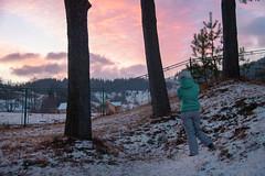 Amanecer (Juanedc) Tags: winter snow mountains sunrise europa europe nieve ukraine amanecer invierno montaas ua ucrania carpathian verkhovyna karpathy carpatos ivanofrankivsk berezhnytsya