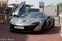 Team Galag's McLaren P1 in Dubai (Yasir_Bhojani) Tags: car grey team dubai united uae gray mc emirates arab mclaren saudi arabia hyper laren p1 ksa galag