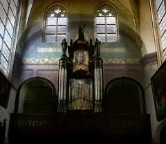 keizerskapel (roberke) Tags: old church window belgium textures photomontage layers antwerp kerk orgel digitatart vision:text=0523 vision:sky=051 vision:outdoor=0697