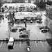 Rainy Kirkland Parking Lot