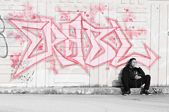 """ERABL"" (SylvainMestre) Tags: street tag selective erabl"