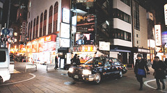@ Dotonbori OSAKA JAPAN (Paula.HK) Tags: street city travel winter vacation urban film festival night vintage sony cny  16mm f28  nex     vsco