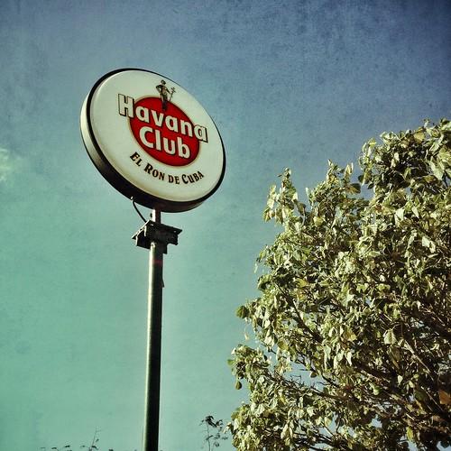 Havana Club on the road to Havana