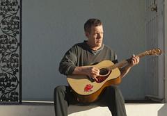 Las Vegas (FreezeTimeDigital) Tags: music lasvegas guitar steps front acoustic