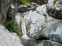 Hermit Falls (squeemu) Tags: california ca green nature water waterfall rocks hiking hike falls southern hermit arcadia chantry