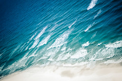 Waterscape number 1 (Melody Migas) Tags: ocean blue sea seascape beach gulfofmexico water sand aqua waves turquoise alabama saltwater waterscape orangebeach pw2 melodymigas