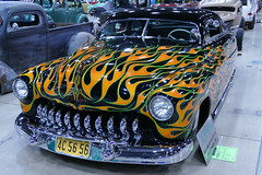 1949 Merc Coupe (bballchico) Tags: mercury flames chopped custom coupe fatboy 1949 merc kustom grandnationalroadstershow jimmyruiz sledsvillehotrodcustomco