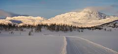 Bitihorn Panorama (coachmanphotos) Tags: snow ski norway canon landscape skiing crosscountry nordic s90 crosscountryski beitostolen canons90