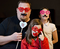Project 52: Week 6 - Love (Angelia's Photography) Tags: cute fun nikon funny valentines mustache valentinesday project52 mustachefamily