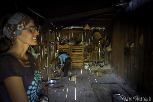 W kambodżańskim domu