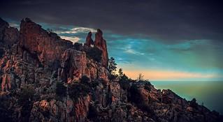 Piana (Corsica) _ ♥ shaped rock