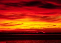 LosAngelesInferno (mcshots) Tags: ocean california travel winter sea sky usa sun water clouds sunrise dawn coast stock malibu pch socal mcshots losangelescounty
