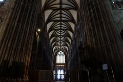 Lichfield cathedral interior
