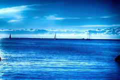 It's a blue day (Gastone Mappini) Tags: blue sea zeiss mare blu sony sail sailor vela livorno hdr gastone castiglioncello vele sonydscrx100m2 sonydscrx100mii gastonemappini mappini