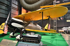 Curtis P-6E (robtm2010) Tags: ohio usa history museum airplane 1930s fighter hawk aircraft military dayton curtis nationalmuseumoftheunitedstatesairforce p6e