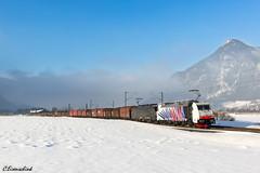 Lokomotion 186 444 und MRCE 189 927 bei Oberaudorf (TheKnaeggebrot) Tags: siemens 186 kloster 189 bombardier traxx mrce lokomotion reisach schrottzug 186444 189927