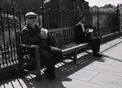 Alfresco dining ... (vmanseventy) Tags: blackandwhite scotland nikon edinburghcastle princesstreet royalmile mound highstreet ricohgr nationalgalleryofscotland rsa stgiles waverley decisivemoment ramsaygarden filmphotography nikonfm nikonf65 rosestreet georgeivbridge sirwalterscottmonument streetcandid 50mmlens edinburghinternationalfestival westprincesstreetgardens tripuk eastprincesstreetgardens peoplephotos playfairsteps lefteyed edinburghstreetphotography fujixpro1 moundsquare olympusbodycaplens fujix100s panasonic20mm17ii robertbmcneill ricohgrd1v panasoniclumixgm11232mmlens fuji27mmlens fuji18mmf2lens scottishstreetphotography