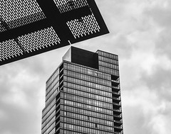 Geometrical Juxtaposition (Gimo Nasiff) Tags: nyc west building geometric monochrome architecture canon lens photography 50mm arquitectura geometry manhattan f14 sony side architectural upper fl geometrical juxtaposition uws upperwest gimo canonfl50mmf14 nasiff ilce6000