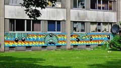 Scarpulla & Gijs Vanhee / Nieuw Gent - 26 mei 2016 (Ferdinand 'Ferre' Feys) Tags: streetart graffiti belgium belgique belgi urbanart graff ghent gent gand graffitiart artdelarue urbanarte scarpulla gijsvanhee