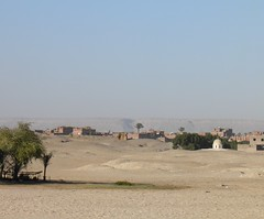 Abydos, clear day, view of eastern gebel from dig house (dr.heatherleemccarthy) Tags: mountains sand egypt abydos