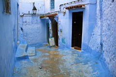 IMG_3636 (rachel_salay) Tags: city blue morocco chefchaouen