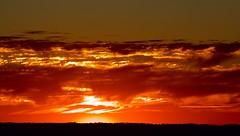 Here comes the sun... (dmunro100) Tags: light sunrise canon eos dawn adelaide redsky southaustralia adelaidehills 60d canonef70300mmf456lisusm